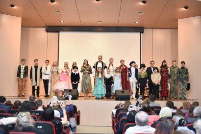 Пасхальный подарок для детей: в Одесской Юракадемии прошел спектакль «Ангел любви»