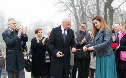 В парке Шевченко восстановили «Вазу малую»