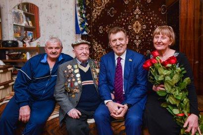 Поздравление ветеранов-освободителей с праздником 10-го апреля