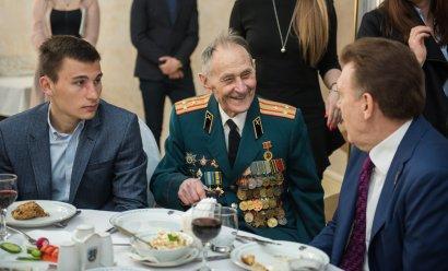 Встреча с ветеранами в День освобождения Одессы