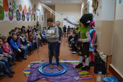 Студенты Одесской Юракадемии организовали красочный праздник для учеников школы-интерната