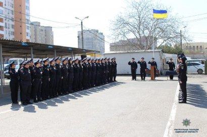 14 новобранцев вступили в ряды патрульной полиции
