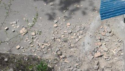 В Одессе снова рушатся фасады
