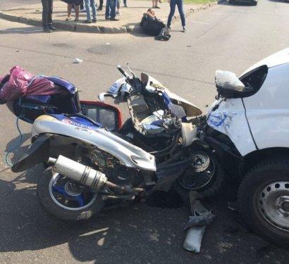 Еще один «двухколесный водитель» пострадал в ДТП