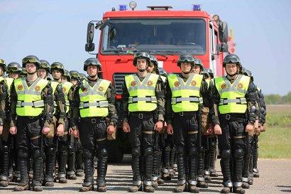 Одесские спасатели отработали действия во время массовых мероприятий