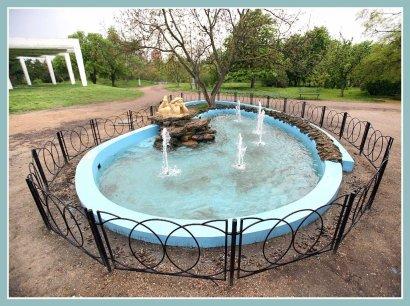 Реанимировали еще один фонтан