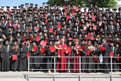 Vivat, Akademia! Выпускникам Одесской Юракадемии вручили дипломы магистров