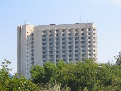 На Одесском курорте выгорел высотный отель