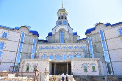 В Одессе продолжается строительство первой и единственной в Украине Общеобразовательной церковно-приходской школы