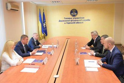 Глеб Милютин встретился с представителями Офиса технической помощи Казначейства США при ГФС