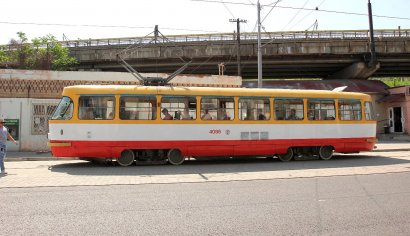 Трамвай вернулся на родную остановку