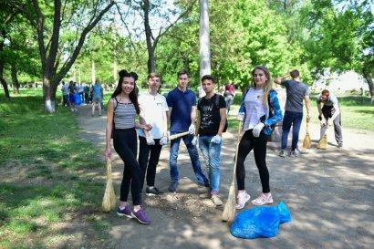 «Неделя добрых дел» Студенческого совета  Одесской Юракадемии и Молодежной платформы «Будущее»