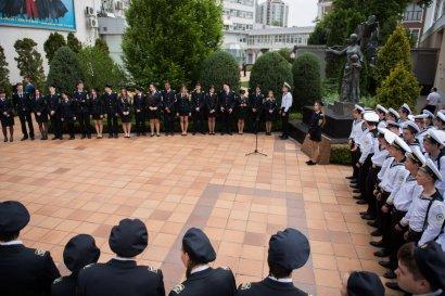Возложение цветов в День Победы состоялось  у памятника  «Спасенное детство»