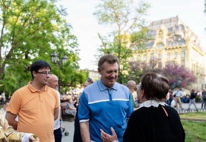 В Ротонде Городского сада возобновились традиционные летние концерты