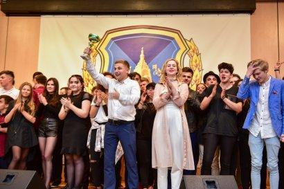 Студенческий батл шуток на ежегодном Кубке президента Одесской Юракадемии по КВН