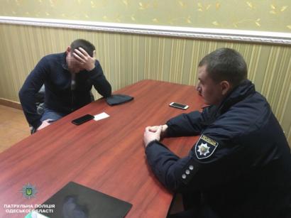 В Одессе будут судить человека, который попытался откупиться от протокола за «пьяную езду»
