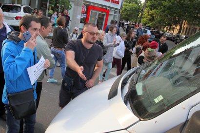 На Разумовской акция протеста