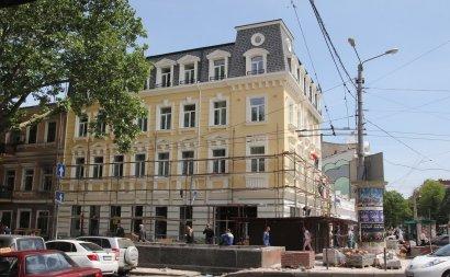 Напротив вокзала появилось новое здание