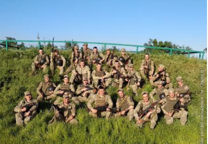 Одесские курсанты проверили теоретические знания на практике