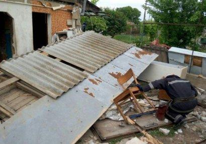 Под Одессой взорвался дом