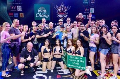 Одесситы стали чемпионами мира по таиландскому боксу муэй-тай