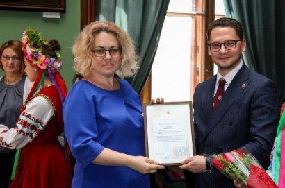 Одесских ученых отметили почетными наградами