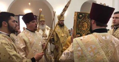 Литургия в Свято-Георгиевском храме г. Измаила