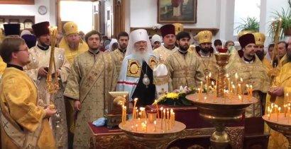 Праздник святителя Николая в Измаиле