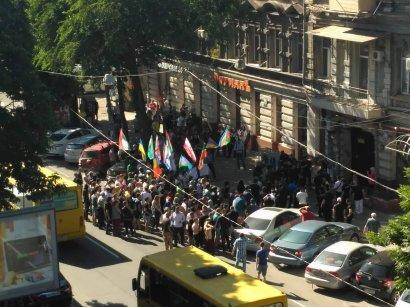 В Одессе пикетировали офис евромайдановцев