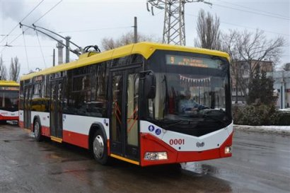 В Одесском электротранспорте «прибыло». Сразу на шесть новых троллейбусов