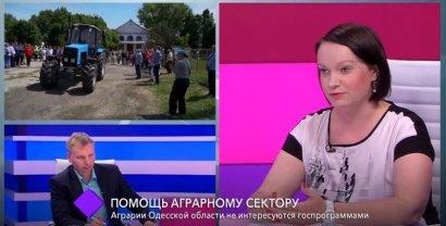 Помощь аграрному сектору. В студии – заместитель губернатора Одесской области Светлана Шаталова