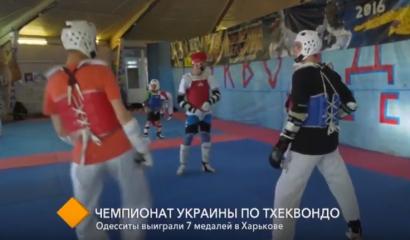 Одесситы выиграли 7 медалей на чемпионате Украины по тхеквондо
