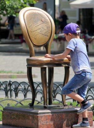 В Одессе самая маленькая в мире площадь