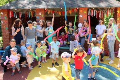 Праздник для воспитанников Детского дома №1 в преддверии Дня защиты детей