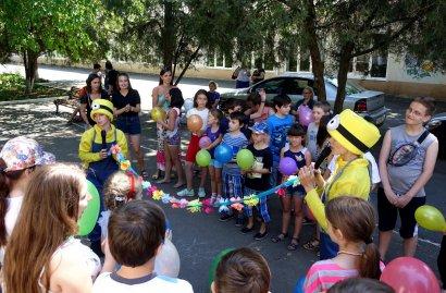 В День защиты детей студенты Одесской Юракадемии поздравили воспитанников школ-интернатов и детских домов