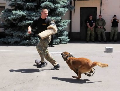 Студенты Юридического колледжа посетили подразделение батальона полиции особого назначения