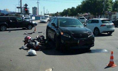 ДТП с пострадавшим произошло в Киевском районе Одессы