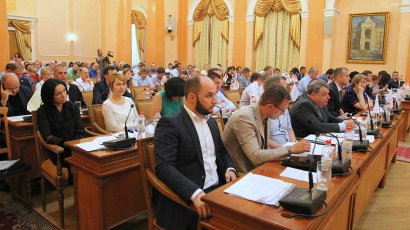 На сессии Одесского горсовета Украинская морская партия выступила в поддержку Андрея Новичкова