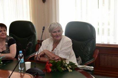 Международный гуманитарный университет поздравляет Валентина Таранца с юбилеем