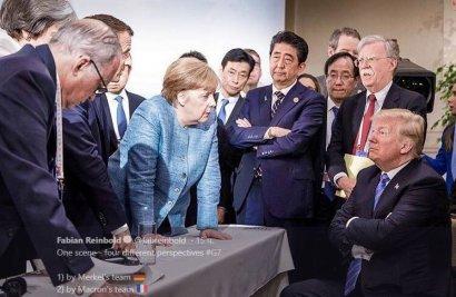 """Под итоговым коммюнике саммита стран """"большой семерки"""" G7 не будет подписи представителей США"""