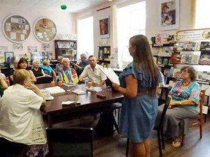В библиотеке имени Паустовского состоялось заседание «Морская библиотека», посвященное журналистам