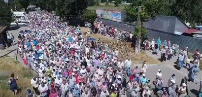 Многотысячное молитвенное шествие в Белгороде-Днестровском