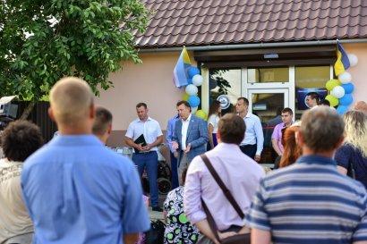 В селе Фонтанка Лиманского района открыта приемная Украинской морской партии Сергея Кивалова
