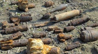 Почти полсотни боеприпасов времен отечественной войны обнаружены в районе Фонтана