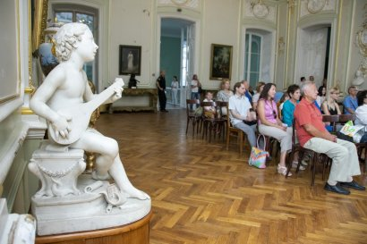 В музее западного и восточного искусства зазвучал саксофон