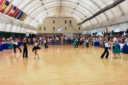 Танцевальные соревнования «Жемчужина Одессы» на берегу Черного моря