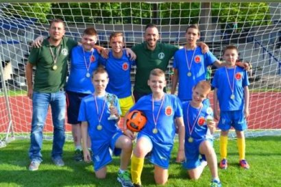 На инклюзивном чемпионате по футболу в Германии успешно выступили воспитанники одесской спецшколы