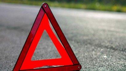Серьезная авария произошла на Среднефонтанской площади