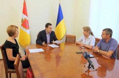 В Одесском горсовете главы всех фракций обсудили вопрос о спасении Андрея Новичкова