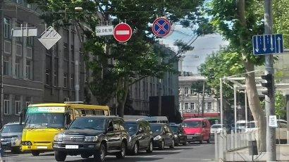 Улица Ришельевская стала полностью односторонней
